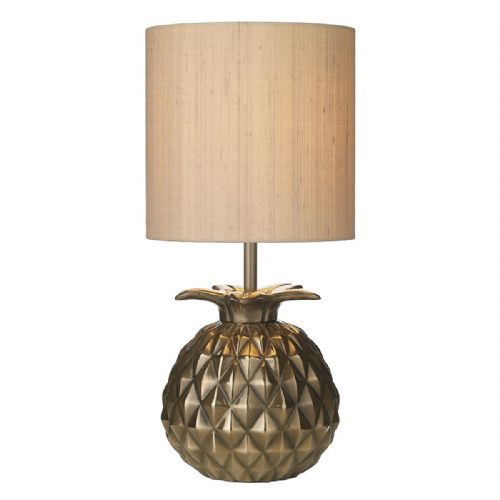 Ananas Table Lamp Bronze Base Only ANA4263 (Hand made, 7-10 day Delivery)